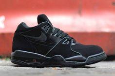 #Nike Air Flight 89 Black/Anthracite #sneakers