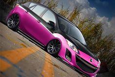 Mazda_3___Hot_Pink_by_chopperkid44cut.jpg 500×335 pixels