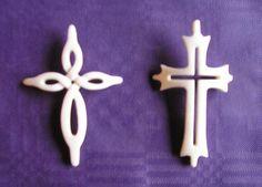 antler carving crosses - Google Search