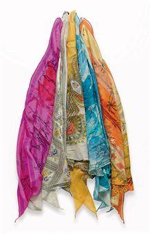 Dale Evans' silk scarves