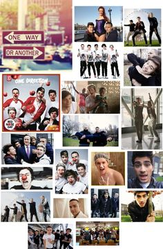"""""""ONE WAY OR ANOTHER ONE DIRECTION{cover}"""" by grm1006 ❤ liked on Polyvore"""