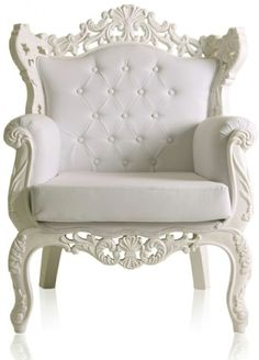 Shabby chic vintage style chair