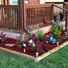 More flower beds!