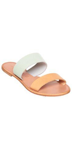 mint sable sandals at joie
