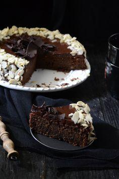 Whisk Affair: Chocolate Almond Torte Caprese with Chocolate Ganache