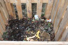 Compostiera per l'orto fai da te