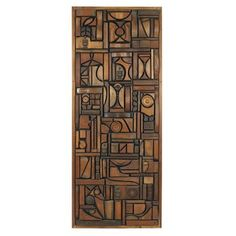 -Mabel Hutchinson-  *mixed wood & found objects  (1975)