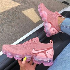 The Nike Air VaporMax Flyknit 2 Rust Pink is a classic women s shoe with  standout style originating from the Nike VaporMax range. 9dbe4d3d13db5