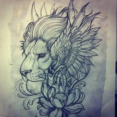 Tattoo drawings yin yang dragon tiger tattoo drawing for Inked temptations tattoo studio