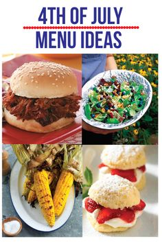 4th of July Menu Planning Ideas