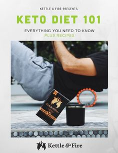 Keto Diet 101 Book Cover-kettle-and-fire Source by Zero Carb Diet, Keto Diet Plan, Ketogenic Diet, Low Carb, Ketogenic Recipes, Diet Tips, Diet Recipes, Health Recipes, Keto Rash