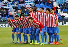 Equipos de fútbol: SPORTING DE GIJÓN contra Leganés 12/02/2017