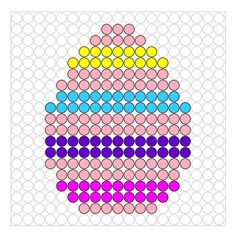 * Ei! Easter Art, Easter Crafts, Crafts For Kids, Perler Bead Templates, Diy Perler Beads, Hama Beads Patterns, Beading Patterns, Cross Stitch Embroidery, Cross Stitch Patterns