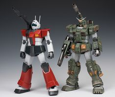 MG GM Cannon & Full Armor GUNDAM