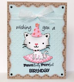 Create a Critter. got2bcrafting: Pawsitively Purrfect Birthday