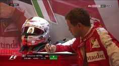 """""""Dear Mom, It's nuts out on the circuit right now, And you were right about Kimi, He's crazy!"""""""
