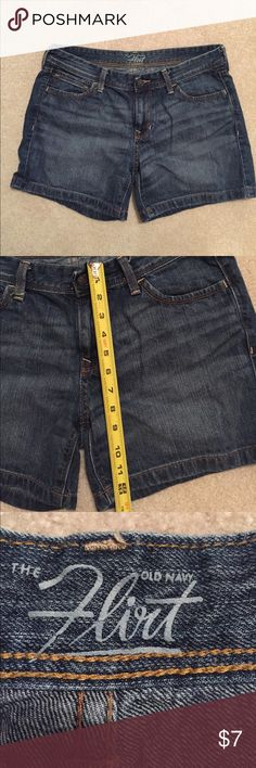 Old Navy, the flirt denim shorts Old Navy, the flirt denim shorts Old Navy Shorts Jean Shorts