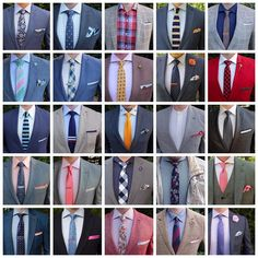 Ties mens fashion - Instead of live photo see details on my feed here's a recap of July and a few from August Which combo is your favorite from the group Mens Shirt And Tie, Suit And Tie, Shirt Tie Combo, Shirt And Tie Combinations, Blazer Outfits Men, Fashion Infographic, Formal Men Outfit, Mode Costume, Mens Fashion Suits