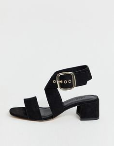 Find the best selection of ASOS DESIGN Wide Fit Hip Hop block heeled sandals in black. Shop today with free delivery and returns (Ts&Cs apply) with ASOS! Block Sandals, Block Heels, Hip Hop, Asos, Heeled Mules, Heeled Sandals, Makeup Collection, Open Toe, Ankle Strap