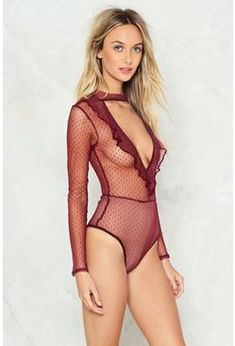 Women's Clothing Shapewear Objective Elle Macpherson The Body High Leg Soft Cup Plunging Neckline No Wires Bodysuit Convenient To Cook
