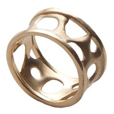Bio B , 14K Gold Ring