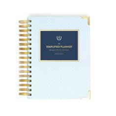 Your Planner. Simplified. These gorgeous, simplified planners by Emily Ley are perfect for your hectic schedule. Keep note of any projects due, important dates, and your social calendar. - Dimensions: