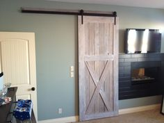 Beautiful sliding barn doors from HIS & HER Home. Reclaimed or new wood, single or double doors, we bring these works of art to life in your home.