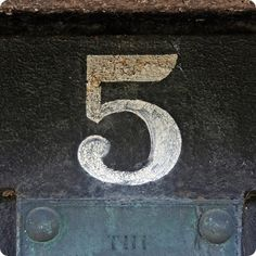the beautiful number 5...