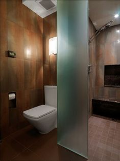Quaker Bluff Residence - modern - bathroom - burlington - by Birdseye Design - this is much more like I am thinking