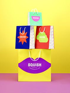 "Candyland does exist! ""SQUISH is a new retail that expands the boundaries  of the candy tasting experience by inviting the consumer to explore beyond  the safety of raspberry and cherry."