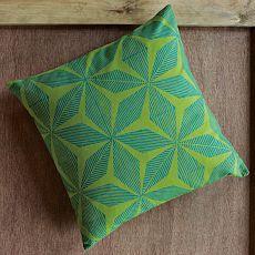 diamond flower pillow