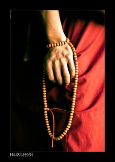 Buddhist prayer beads - Malas are mainly used to count mantras. These mantras can be recited for different purposes linked to working with mind.