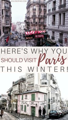 Some very good reasons to visit Paris in the winter! Tips, tricks and exactly why you should visit Paris, France in the winter season!