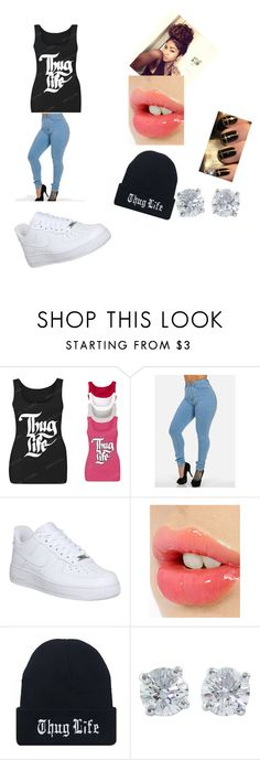 """Thug Life"" by summer-kbreezy on Polyvore featuring NIKE, Charlotte Tilbury, Monday, Tiffany & Co., women's clothing, women, female, woman, misses and juniors"