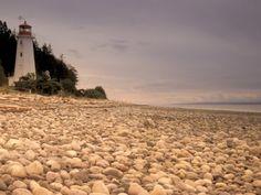 Cape Mudge Lighthouse, Quadra Island, BC, Canada ....remember Mr. Egg