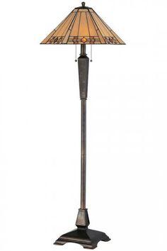Willow Art Glass Portables Floor Lamp   Floor Lamps   Lighting    HomeDecorators.com