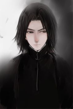 Snape looks so awesome!