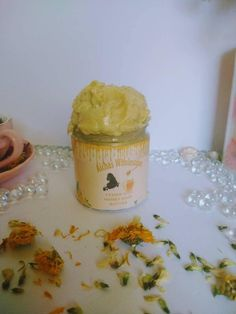 Yemen sidr mountatin honey hair growth butter hair loss treatment organic butter with rosemary, fenugreek, chebe, shea butter, castor oil -