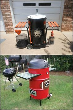 Here's an easy to build smoker that that doesn't require any welding. And you'll find everything you need at your local hardware store!