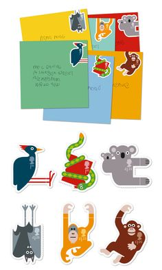 London design house Osborne Ross has created a series of charming and clever postage stamps for the UK's Royal Mail.