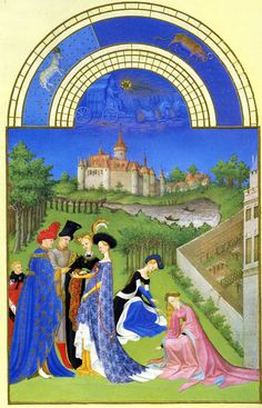 Limbourg Brothers | Limbourg+brothers+february