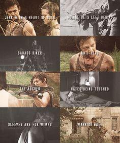 The Walking Dead Character Tropes » Daryl Dixon - the-walking-dead Fan Art