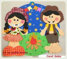 Festa junina Raggedy Ann, Alphabet Activities, Sewing Hacks, Paper Dolls, Minnie Mouse, Disney Characters, Fall, Party, Bulletin Board