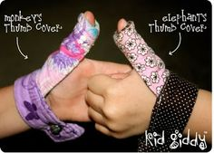 Kid Giddy aka Kerry Goulder: Sewing Patterns, Crafts, DIY, Recipes and more: Stop the Thumbsucking Habit Giveaway &
