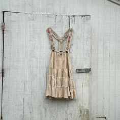 romantic funky Jumper dress / eco dress / upcycled by CreoleSha, $84.99