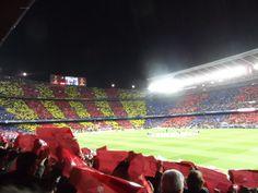 FC Barcelona - AC Milano Fc Barcelona, Baseball Field, Traveling, Soccer, Fun, Hs Football, Futbol, Travel, Baseball Park