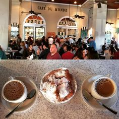 Let the good times roll! Cafe du Monde New Orleans #cafedumonde #beignets ##chicory#decaturstreet #cafe #aulait #coffee #letthegoodtimesroll #bonappetitmag #mississippiriver  #restaurant #neworleans #nola #papillonlovers #papillon #foodandwine #beautifulcuisines #instafood #foodporn  #foodstagram #healthyeating  #capecodlife #Capecod  #eating  #frenchquarter #french #healthyeating #eat by harlylouis
