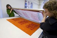 Sérigraphie artisanale / Hand-made silkscreen