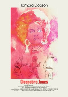 "Poster for ""Cleopatra Jones"" - 1973 by Jack Starrett."