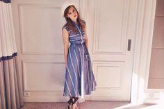 In beeld: Emma Watson in eerlijke en groene looks tijdens promotour